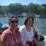 Fahrt mit dem BateauBus auf der Seine