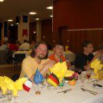 Deutsche und französische Tischtennisspieler