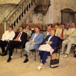 Zuhörer beim Vortrag - Pankratiuskirche