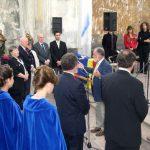 Paul Fery singt die Europahymne