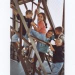 Die Jüngsten klettern auf den Eifelturm