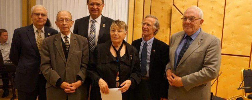 Lilli Maier ist nun Ehrenpräsidentin der DFG